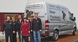 Klever Flockdruck GmbH Textildruck