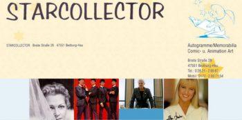 Starcollector – Autogramme, Raritäten und Memorabilia