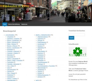 Einkaufen-Kleve.de - Der Firmen-Blog