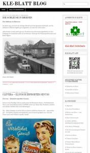 homepage kle-blatt blog
