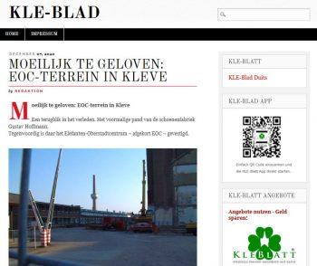 De interessante KLE-Blatt-blog – KLE-Blad in het Nederlands